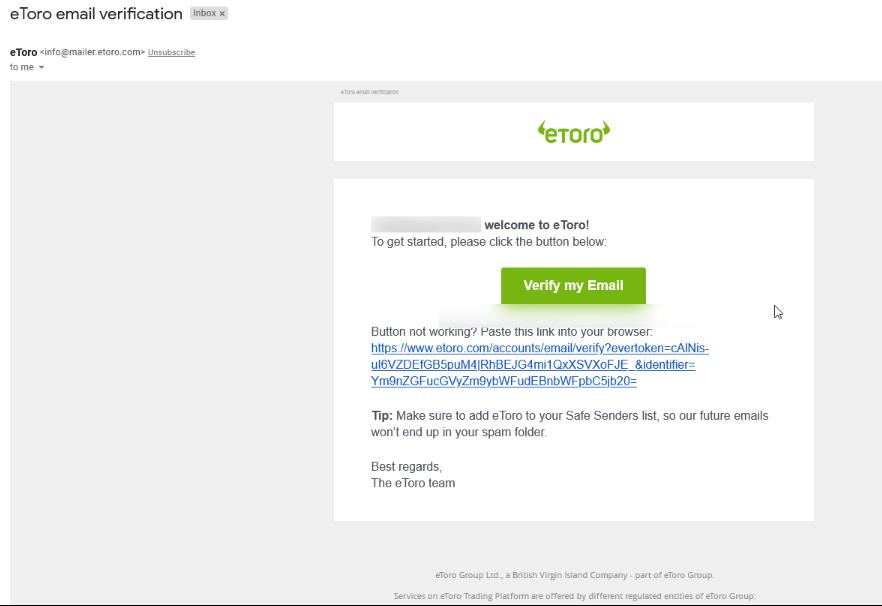 verifica emailul